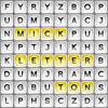 Laberinto de letras (sopa de letras)